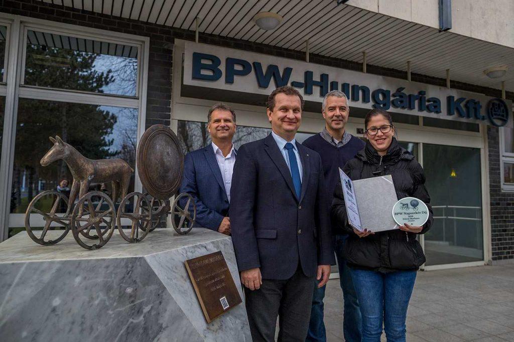 Új eredmények a szakember-utánpótlásban - a BPW-Hungária Kft. friss hírei