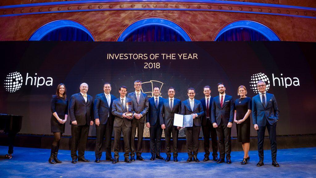 Jövőbe mutató vállalkozásokat díjazott a HIPA az Év Befektetője gálán