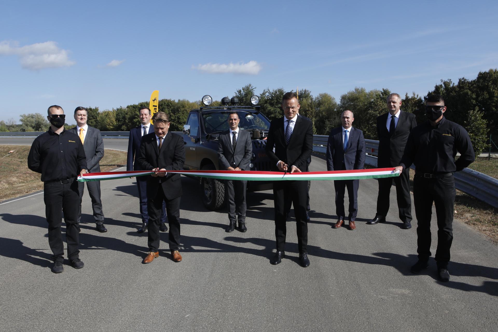 Continental Automotive Hungary Kft. veszprémi tesztpálya