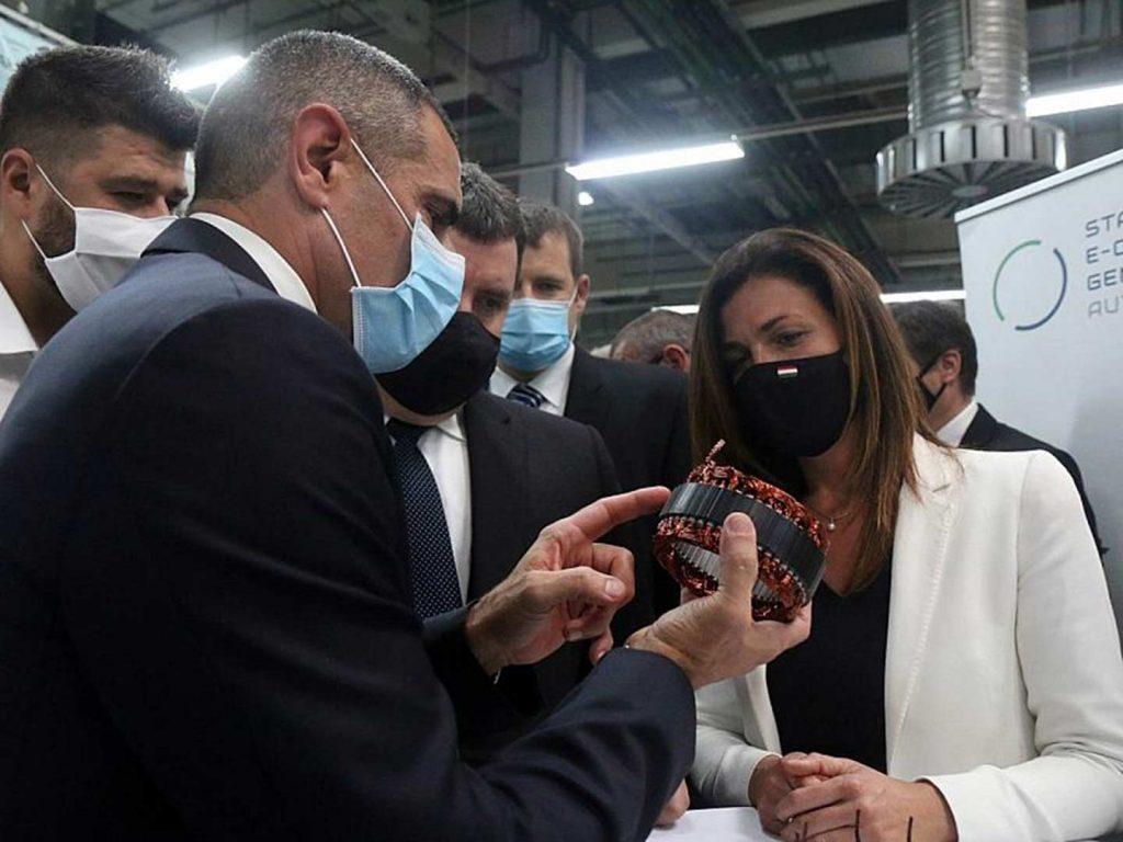 Az SEG Automotive miskolci gyárában elkészült a 75 milliomodik indítómotor