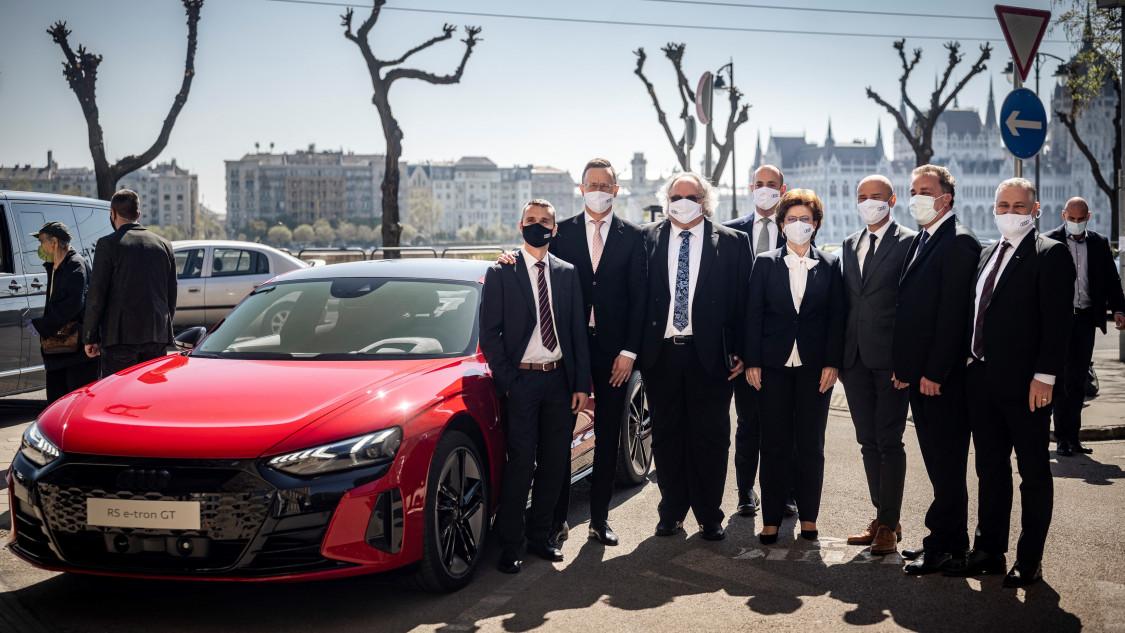 Audi gyárbővítés 2021
