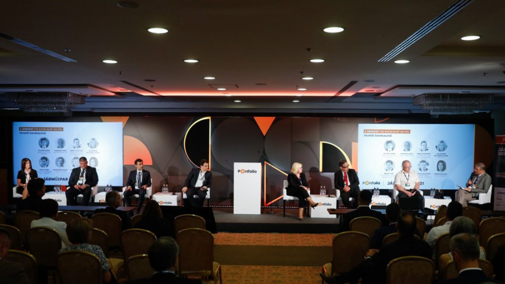 Járműipar 2021 MAGE- Portfolio konferencia