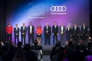Audi Műszaki Fejlesztés 20